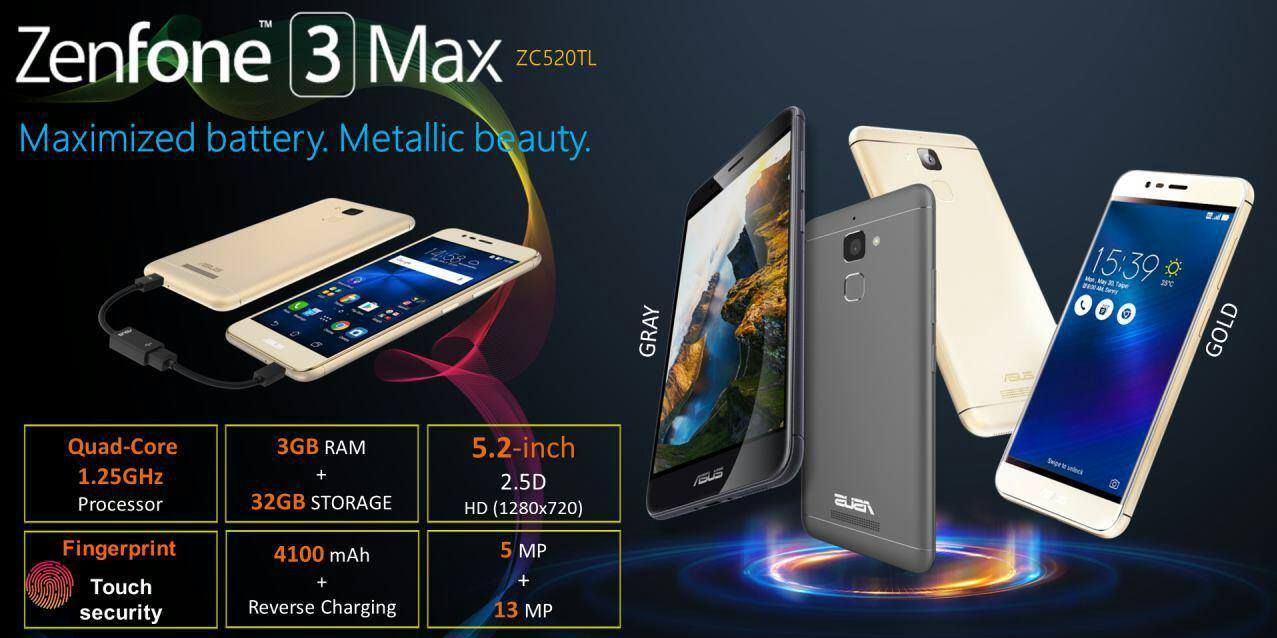 asus zenfone 3 max is now available for rm799 techslack. Black Bedroom Furniture Sets. Home Design Ideas